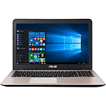 "Buy Asus X555LA Laptop, Intel Core i7, 12GB RAM, 2TB, 15.6"", Black Online at johnlewis.com"