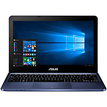 "Buy ASUS EeeBook X205 Laptop, Intel Atom, 2GB RAM, 32GB eMMC, 11.6"" Online at johnlewis.com"