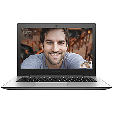 "Buy Lenovo U41 Laptop, Intel Core i5, 8GB RAM, 1TB, 14"", Silver Online at johnlewis.com"