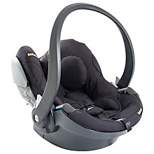 Buy BeSafe iZi Go Modular i-Size Group 0+ Baby Car Seat, Black Cab Online at johnlewis.com