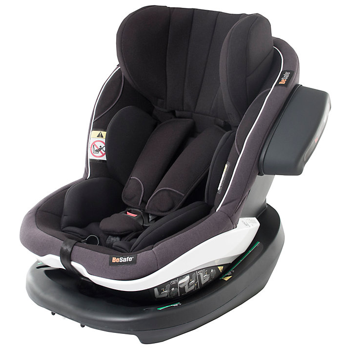 Buy BeSafe iZi Modular i-Size Group 1 Car Seat, Black Cab Online at johnlewis.com