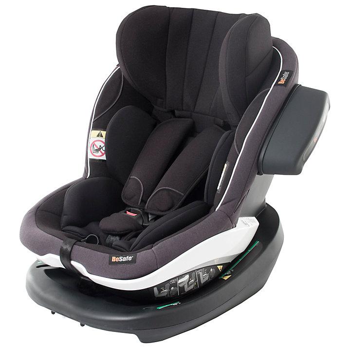Buy BeSafe iZi Modular i-Size Group 1 Car Seat, Black Cab Online at johnlewis.com