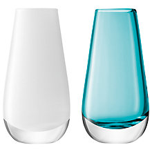 Buy LSA International Flower Colour Bud Vase, Set of 2 Online at johnlewis.com