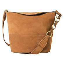 Buy Mango Suede Across Body Bag Online at johnlewis.com