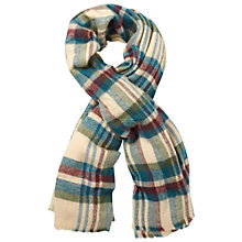Buy White Stuff Cara Check Scarf, Multi Online at johnlewis.com