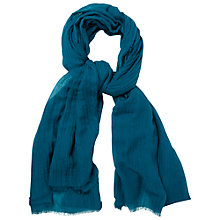 Buy White Stuff Herringbone Dreaming Away Scarf, Lilac Online at johnlewis.com