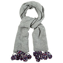 Buy White Stuff Rennie Scarf, Grey Marl Online at johnlewis.com