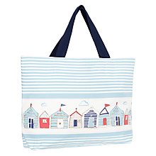Buy John Lewis Beach Huts Large Beach Bag Online at johnlewis.com