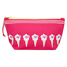 Buy John Lewis Ice Cream Wash Bag Online at johnlewis.com