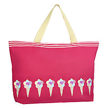 Buy John Lewis Ice Cream Large Beach Bag Online at johnlewis.com