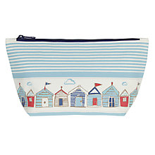 Buy John Lewis Beach Huts Wash Bag Online at johnlewis.com