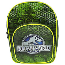 Buy Jurassic World Child's Backpack, Green Online at johnlewis.com