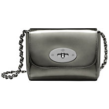 Buy Mulberry Mini Lily Mirror Metallic Bag Online at johnlewis.com
