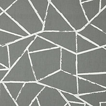 Buy John Lewis Crackle Furnishing Fabric, Grey Online at johnlewis.com