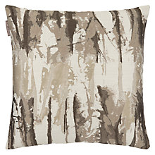 Buy Harlequin Takara Cushion, Steel / Chalk Online at johnlewis.com
