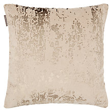 Buy Harlequin Eglomise Cushion, Platinum Online at johnlewis.com