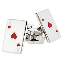 Buy Duchamp Card Cufflinks Online at johnlewis.com