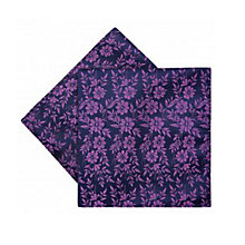 Buy Duchamp Duplic Floral Pocket Square, Navy Online at johnlewis.com