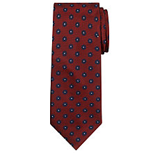 Buy Chester by Chester Barrie Mini Flower Silk Tie Online at johnlewis.com