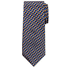 Buy Chester by Chester Barrie Three Colour Square Silk Tie Online at johnlewis.com