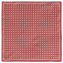 Buy John Lewis Dot Silk Pocket Square Online at johnlewis.com