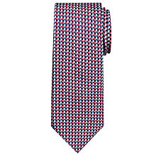 Buy Chester by Chester Barrie Cube Print Silk Tie Online at johnlewis.com