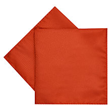 Buy Duchamp Hexagon Plain Silk Pocket Square Online at johnlewis.com
