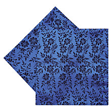Buy Duchamp Duplicate Floral Silk Pocket Square Online at johnlewis.com