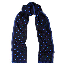 Buy Duchamp Spot Contrast Scarf Online at johnlewis.com