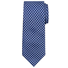 Buy Chester by Chester Barrie Grid Flower Silk Tie Online at johnlewis.com