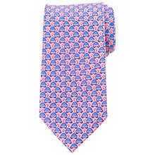 Buy John Lewis Turtle Print Silk Tie Online at johnlewis.com