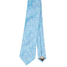 Buy Ted Baker Pigeon Tie, Bright Blue Online at johnlewis.com