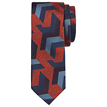 Buy Ted Baker Abstrak Silk Tie Online at johnlewis.com