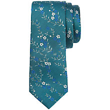 Buy Ted Baker Tie, Teal Online at johnlewis.com