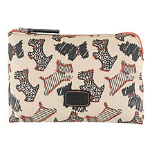 Buy Radley Fleet Street Small Zip Pouch, Ivory Online at johnlewis.com