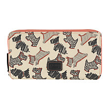 Buy Radley Fleet Street Large Zip Purse, Ivory Online at johnlewis.com