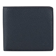 Buy Mulberry Slim Leather Card Wallet, Blue Online at johnlewis.com