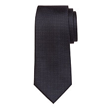 Buy Hackett London Mini Dot Silk Tie, Navy Online at johnlewis.com