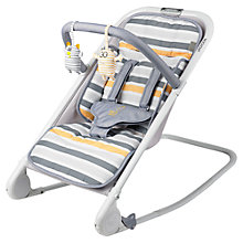 Buy BabaBing Rock Out Rocker, Grey/Mustard Online at johnlewis.com