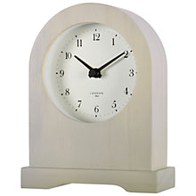 Buy John Lewis Croft Chichester Mantel Clock, Grey Online at johnlewis.com