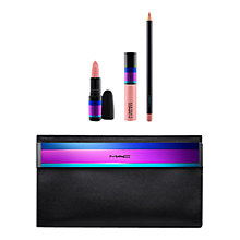 Buy MAC Enchanted Eve Lip Bag, Nude Online at johnlewis.com