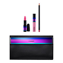 Buy MAC Enchanted Eve Lip Bag, Pink Online at johnlewis.com