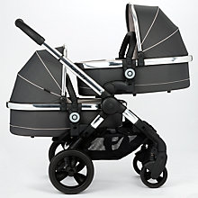 Buy iCandy Peach Blossom Twin Pushchair, Truffle 2 Online at johnlewis.com