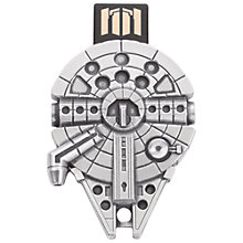 Buy Royal Selangor Star Wars Millenium Falcon USB Flash Drive, 16GB Online at johnlewis.com