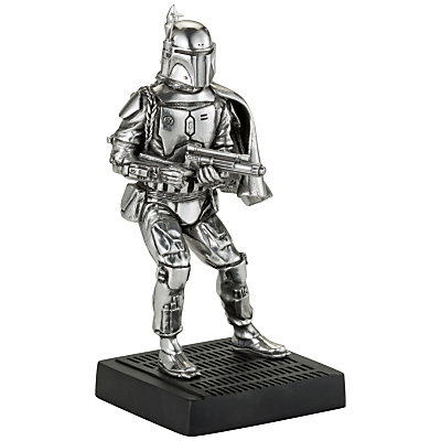 Image of Royal Selangor Star Wars Boba Fett Figurine