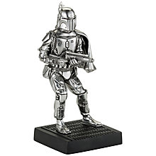 Buy Royal Selangor Star Wars Boba Fett Figurine Online at johnlewis.com