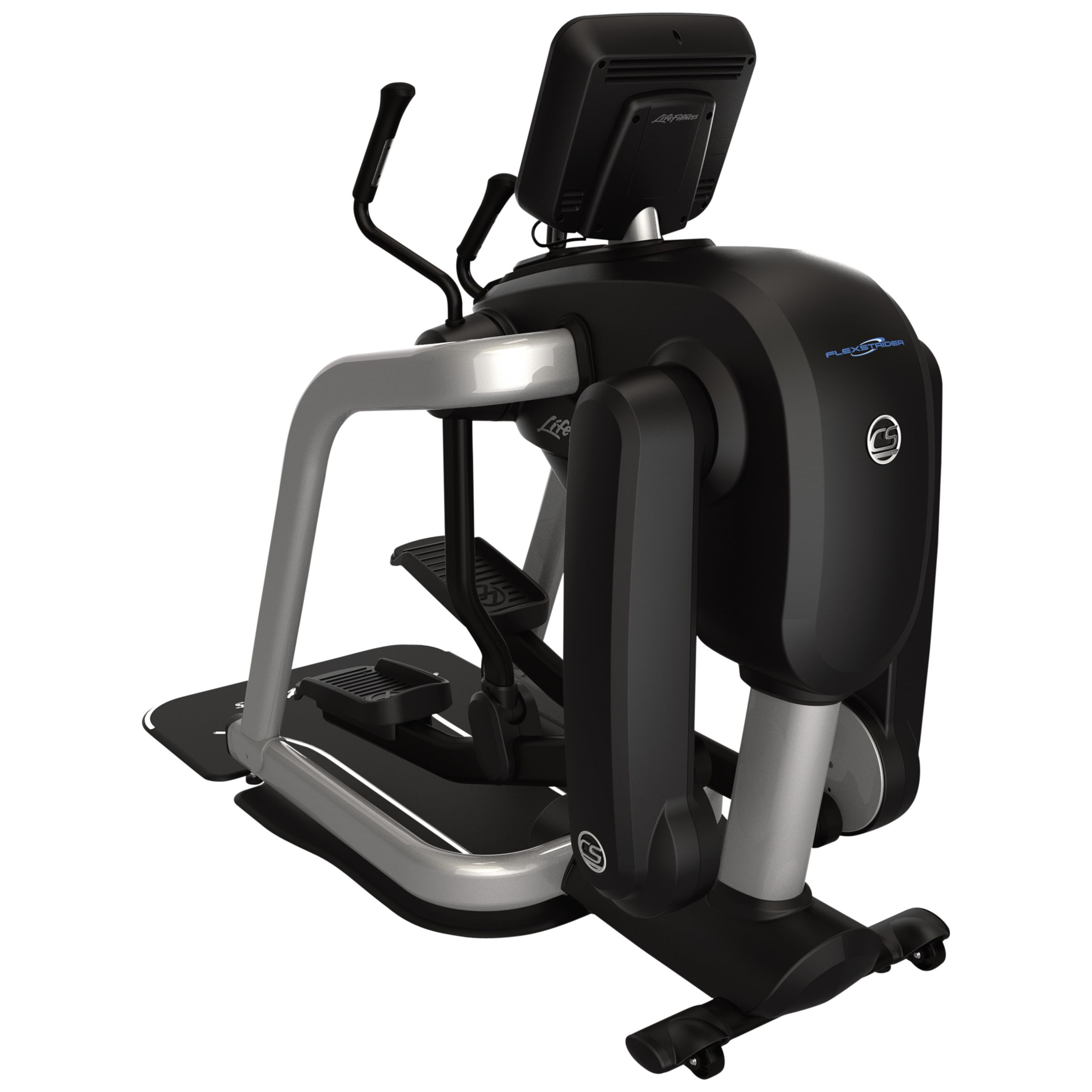 Life Fitness Life Fitness FlexStrider Cross Trainer With Discover SE, Black