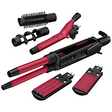 Buy BaByliss Pro Ceramic 12-in-1 Hair Styler, Black/Pink Online at johnlewis.com