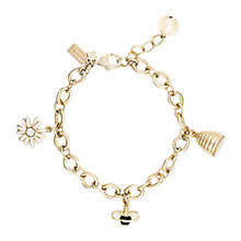 Buy kate spade new york Oops A Daisy Charm Bracelet, Gold Online at johnlewis.com