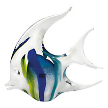 Buy Svaja Annie Angel Fish Large Ornament, Teal/ Blue Online at johnlewis.com